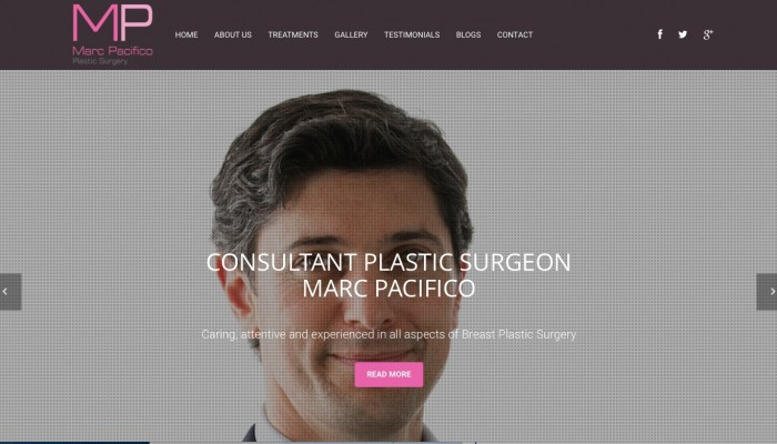 Breast Plastic Surgeon Website