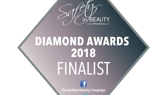 Highly Commended At The Diamond Awards For Safety In Beauty