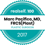 Marc Pacifico Earns Respected RealSelf 100 Award For Ongoing Commitment To Consumer Education And High Patient Ratings